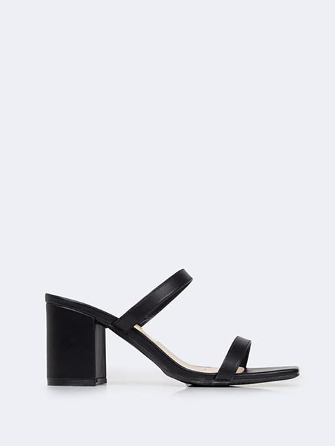 Double Strap Mules