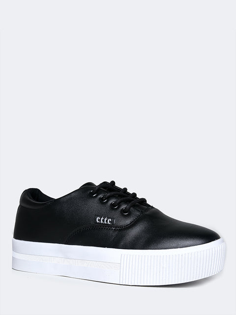 Casual Vegan Leather Sneaker