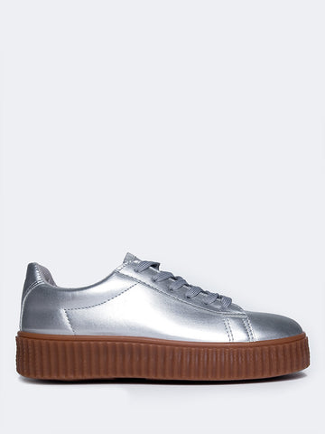 Low Platform Creeper Sneakers