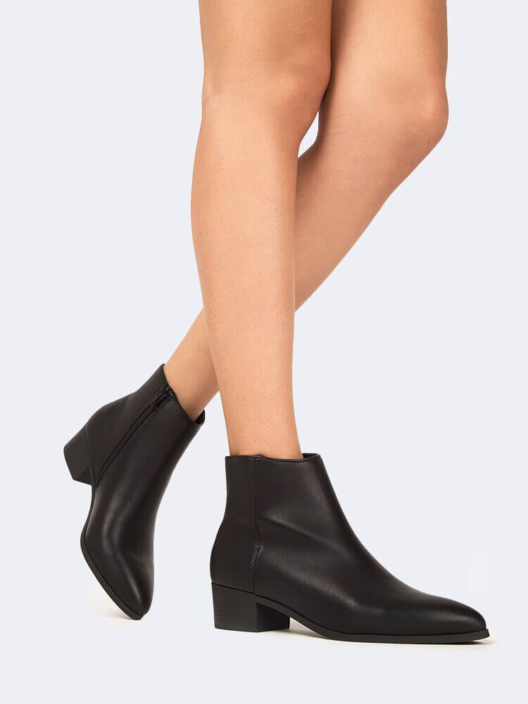 Pointed Toe Ankle Boot