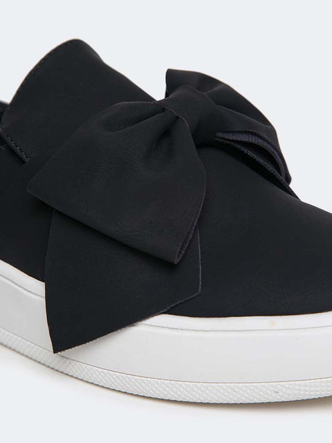 Bow Slip-On Sneakers