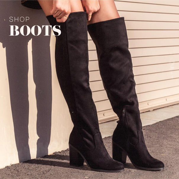 Lace - Up Boots