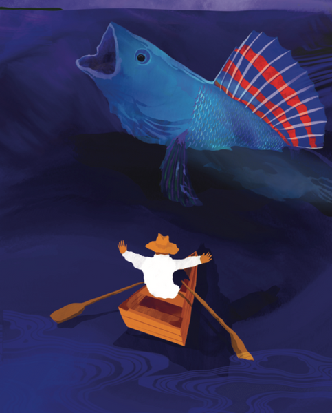 The Fisherman and His Wife (Once Upon a Time in Michigan series) - Adapted by Heather Shaw, illustrated by Tajín Robles