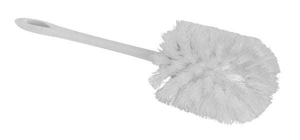 Bowl brush for cleaning drain area