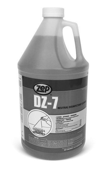 DZ-7 (gallon) low level (EPA rated) concentrated disinfectant