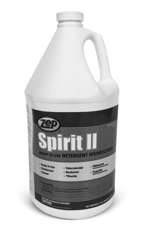 Spirit II (gallon) intermediate level (EPA rated) ready-to-use disinfectant