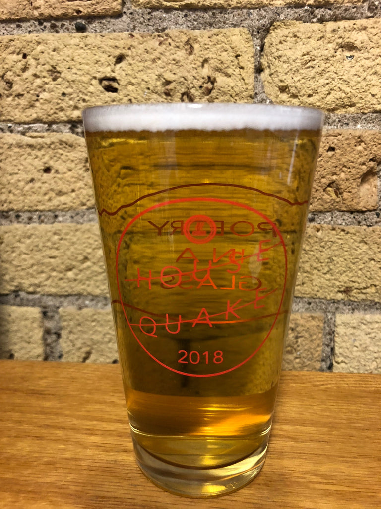 Housequake Pint Glass 2018