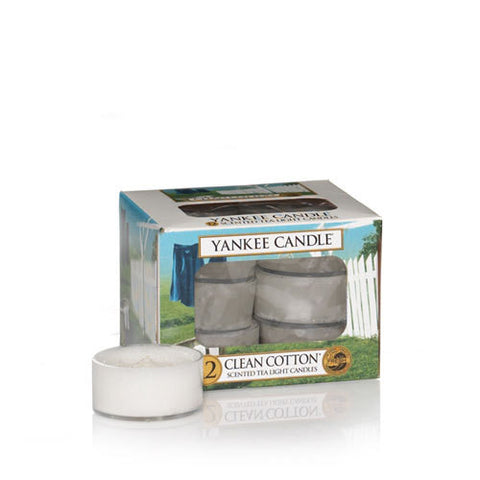 Clean Cotton Tealights - Candle Co Winchester