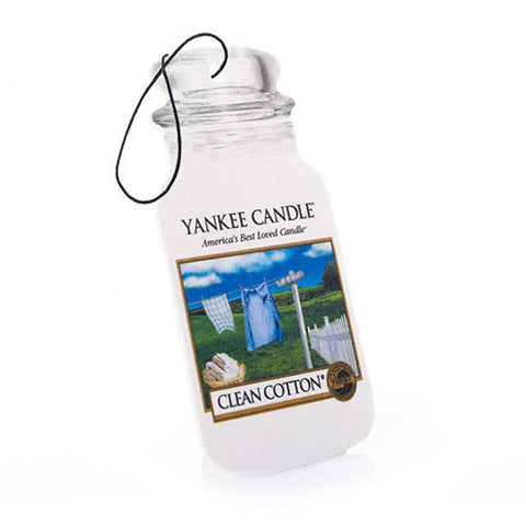 Car Jar Clean Cotton - Candle Co Winchester