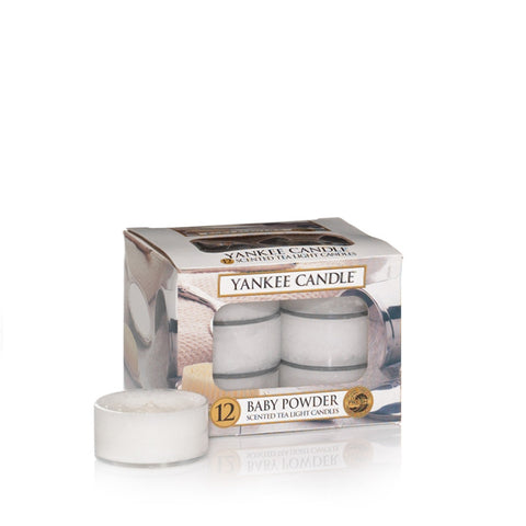 Baby Powder Tealights - Candle Co Winchester