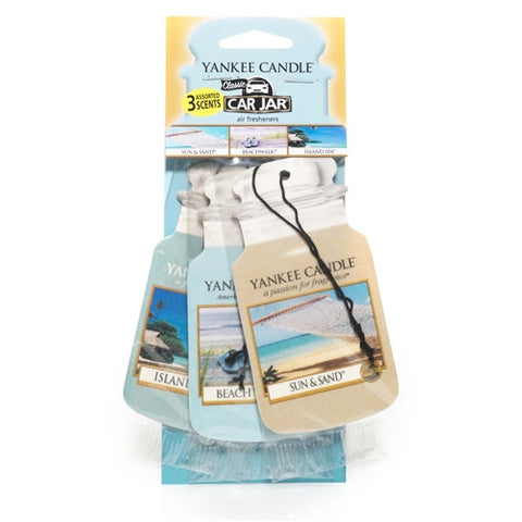 Car Jar 3 Pack Seacoast Highway - Candle Co Winchester