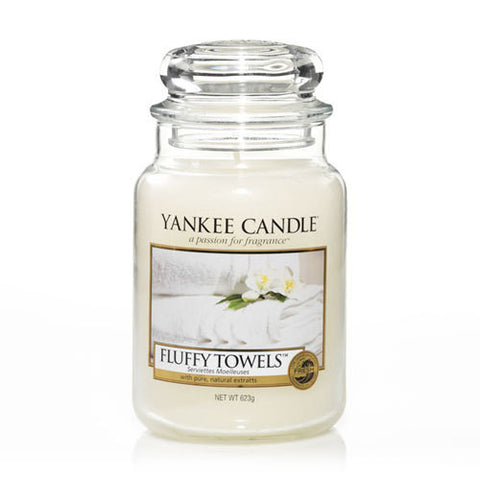 Fluffy Towels Large Jar - Candle Co Winchester