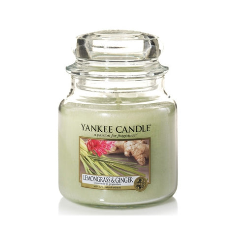 Lemongrass and Ginger Medium Jar - Candle Co Winchester