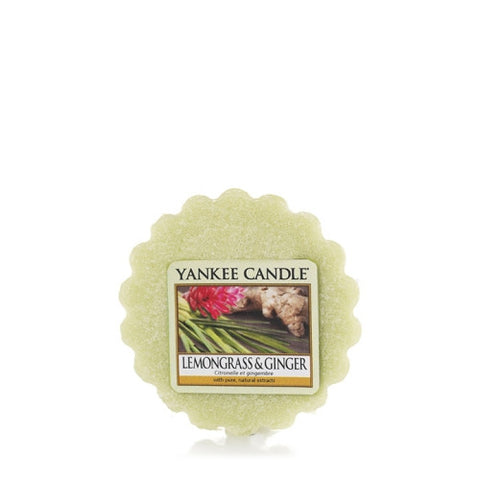 Lemongrass and Ginger Wax Melt - Candle Co Winchester