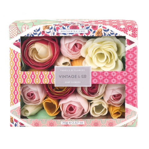 Vintage & Co Soap Flowers 70g