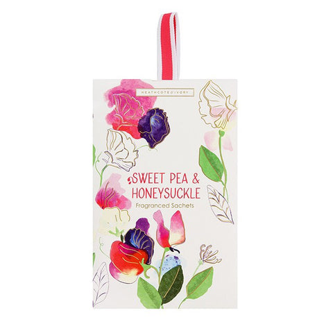 Sweet pea & Honeysuckle Fragrance Sachets