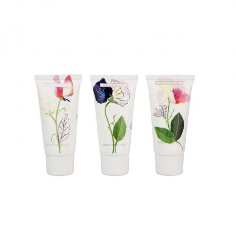 Sweet Pea & Honeysuckle Travel Hand Cream Set