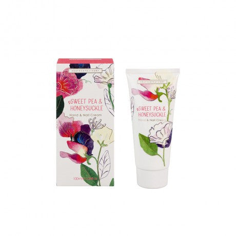 Sweet Pea & Honeysuckle Hand & Nail Cream 100ml
