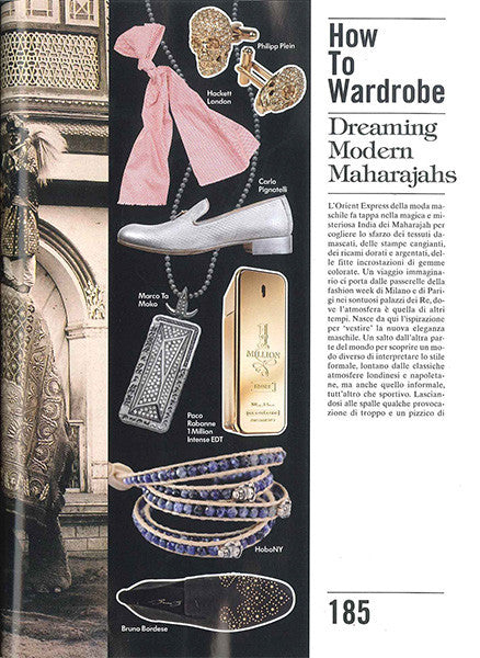 Marco Dal Maso jewellery featured in VOGUE ACCESSORY magazine