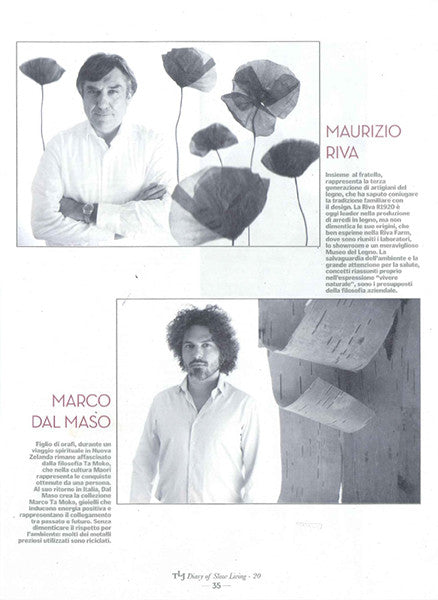 Marco Dal Maso jewellery featured in THE LIFESTYLE JOURNAL