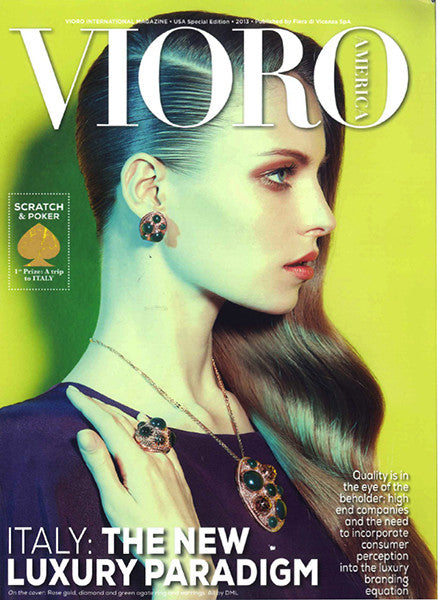 Marco Dal Maso jewellery featured in VIORO AMERICA magazine