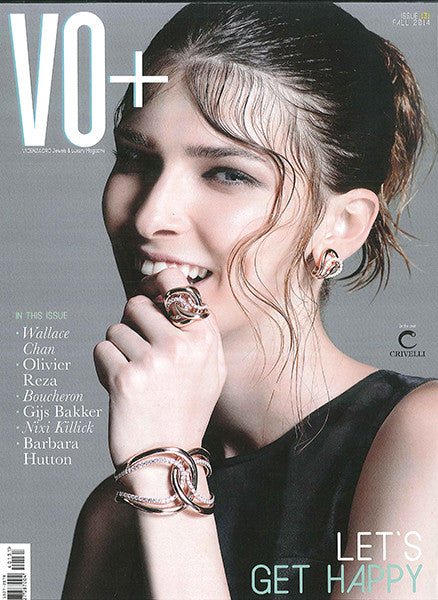 Marco Dal Maso jewellery featured in VO+ magazine