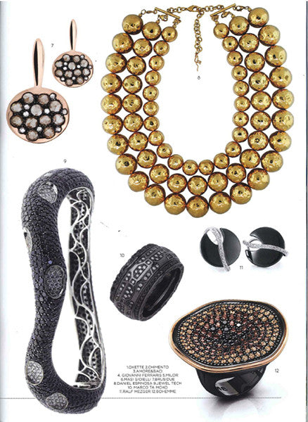 Marco Dal Maso jewellery featured in VIORO magazine