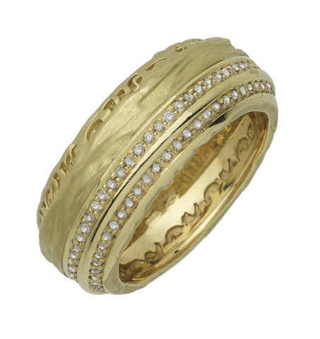 marco dal maso other half gold ring