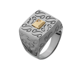 Ara Solid Gold Ring