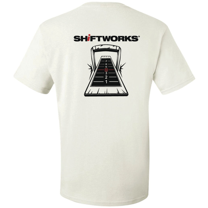 NEW!!! White Staple Shifter T-Shirt