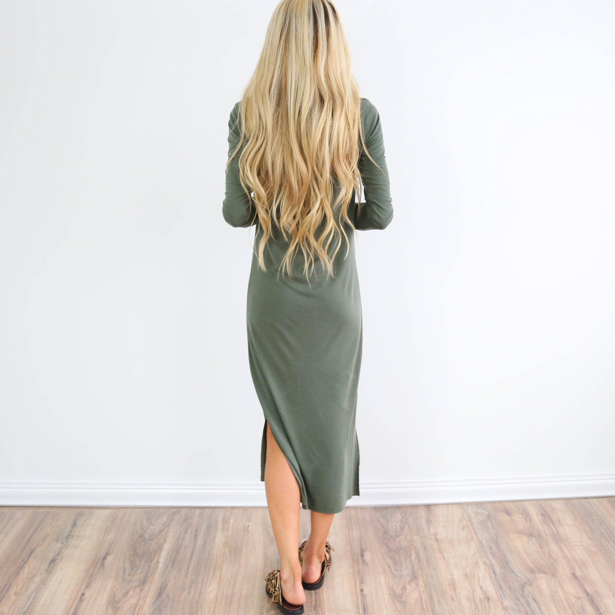 Simply Olive Dress