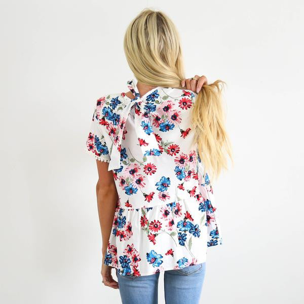 Brielle Bow Top