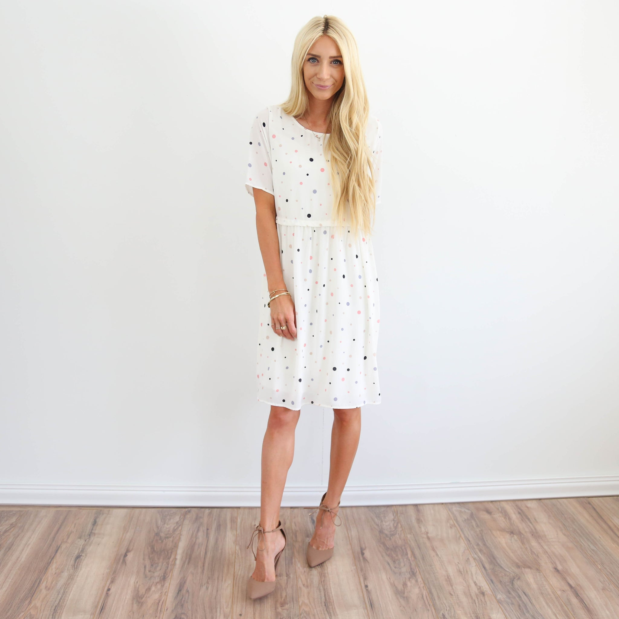 S & Co. Polka Dot Dress