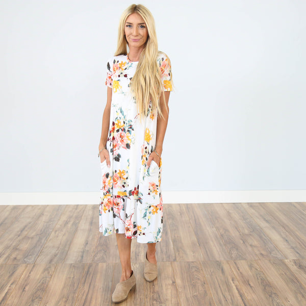 Brooke Floral Dress