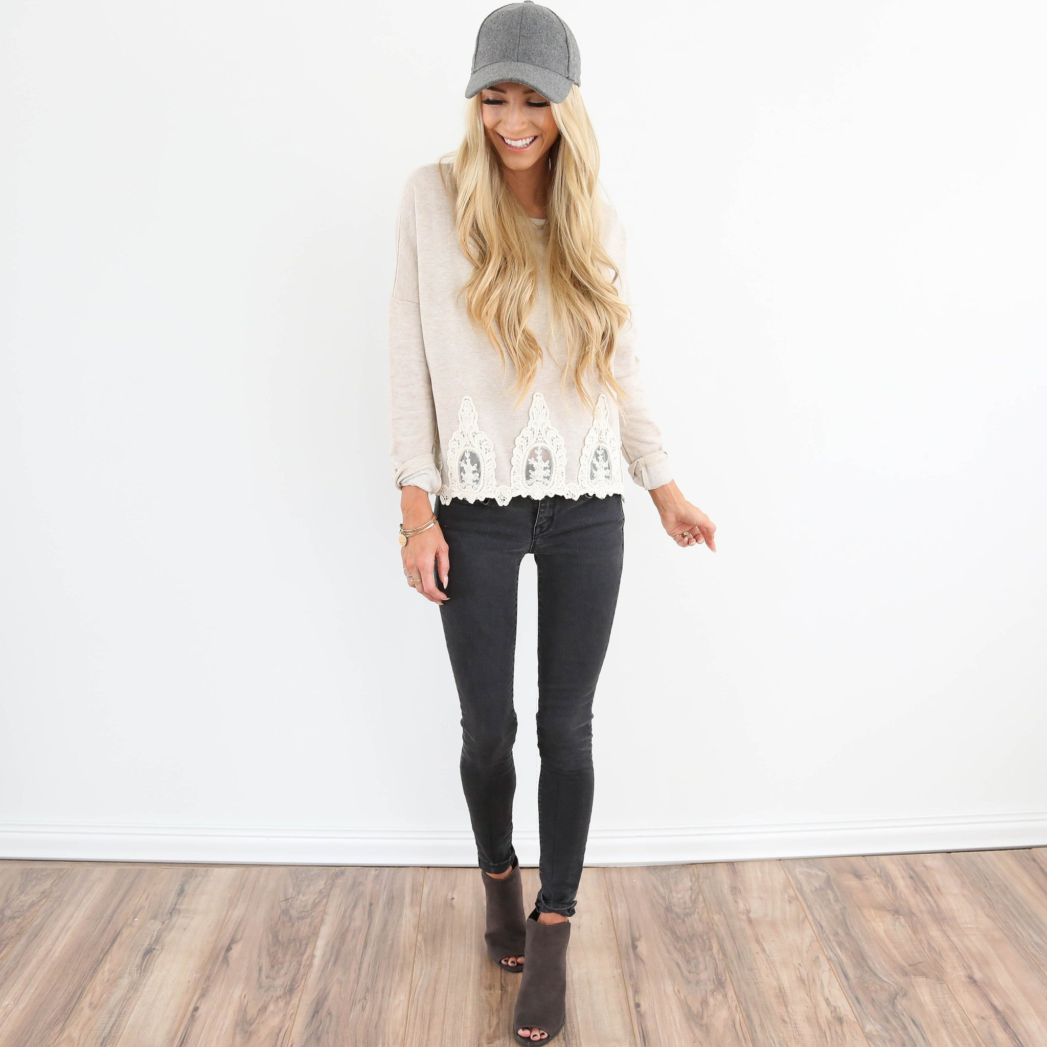 Soph Lace Sweater