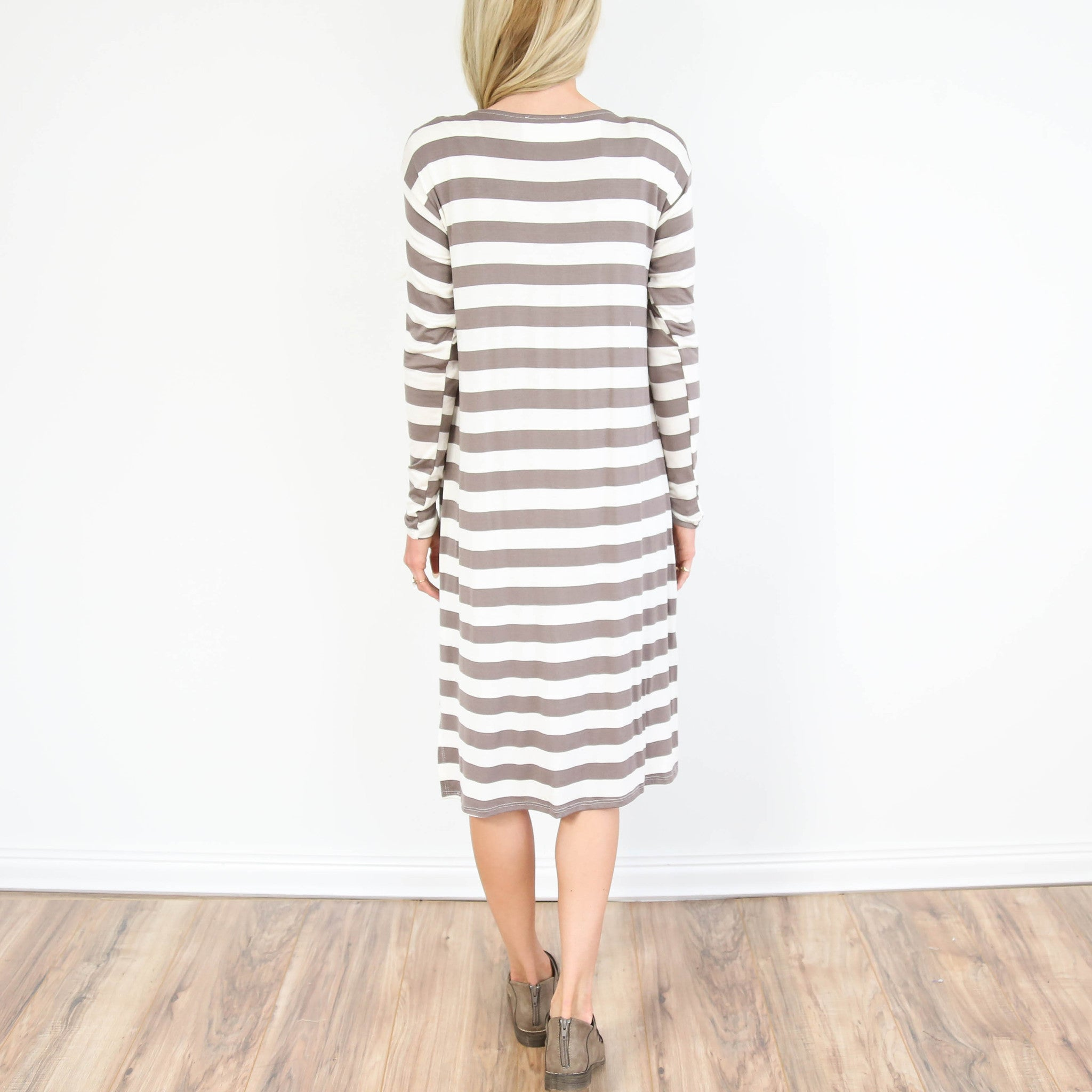 Hoodie Pocket Dress