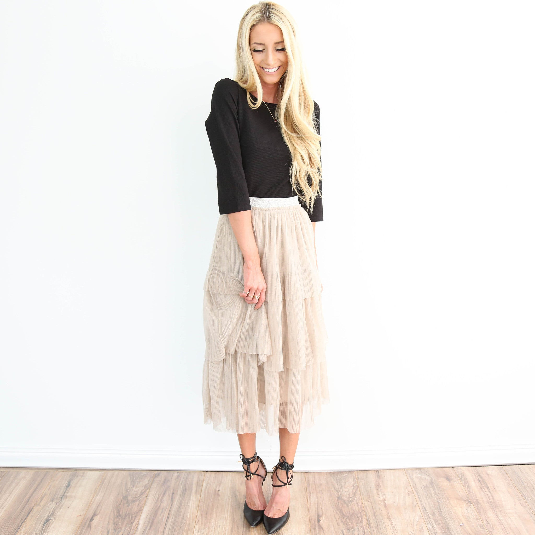 Sand Stroll Layer Skirt