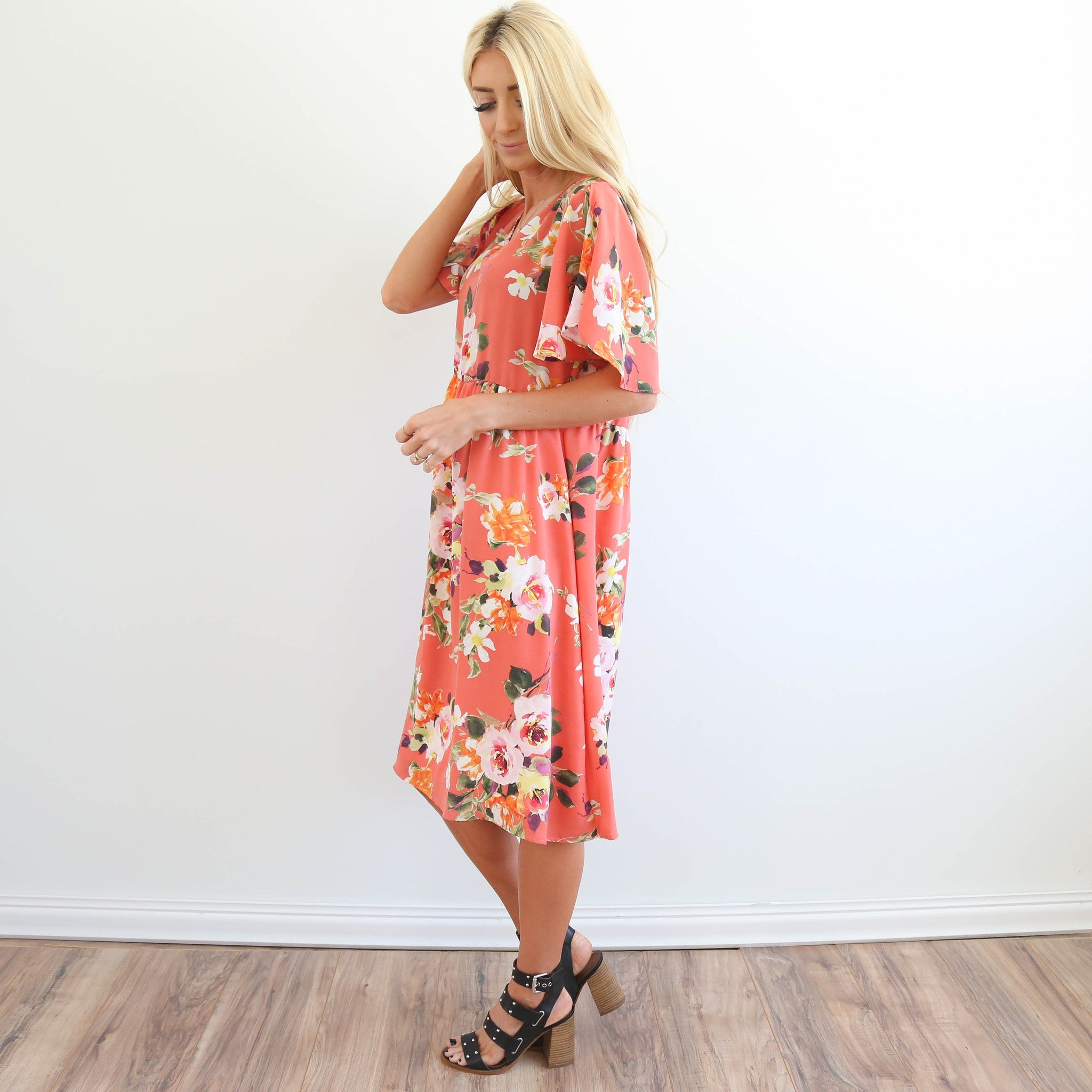 Leandra Printed Dress