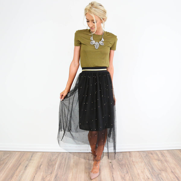 Winter Night Skirt