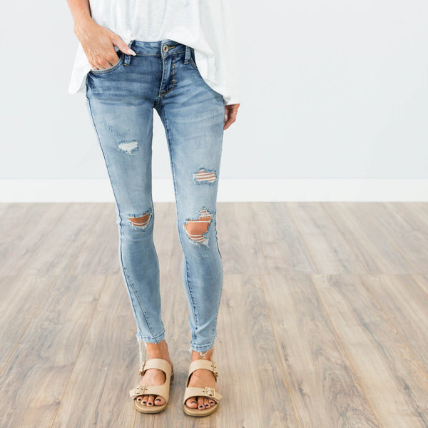 Nikki Denim in Light Wash