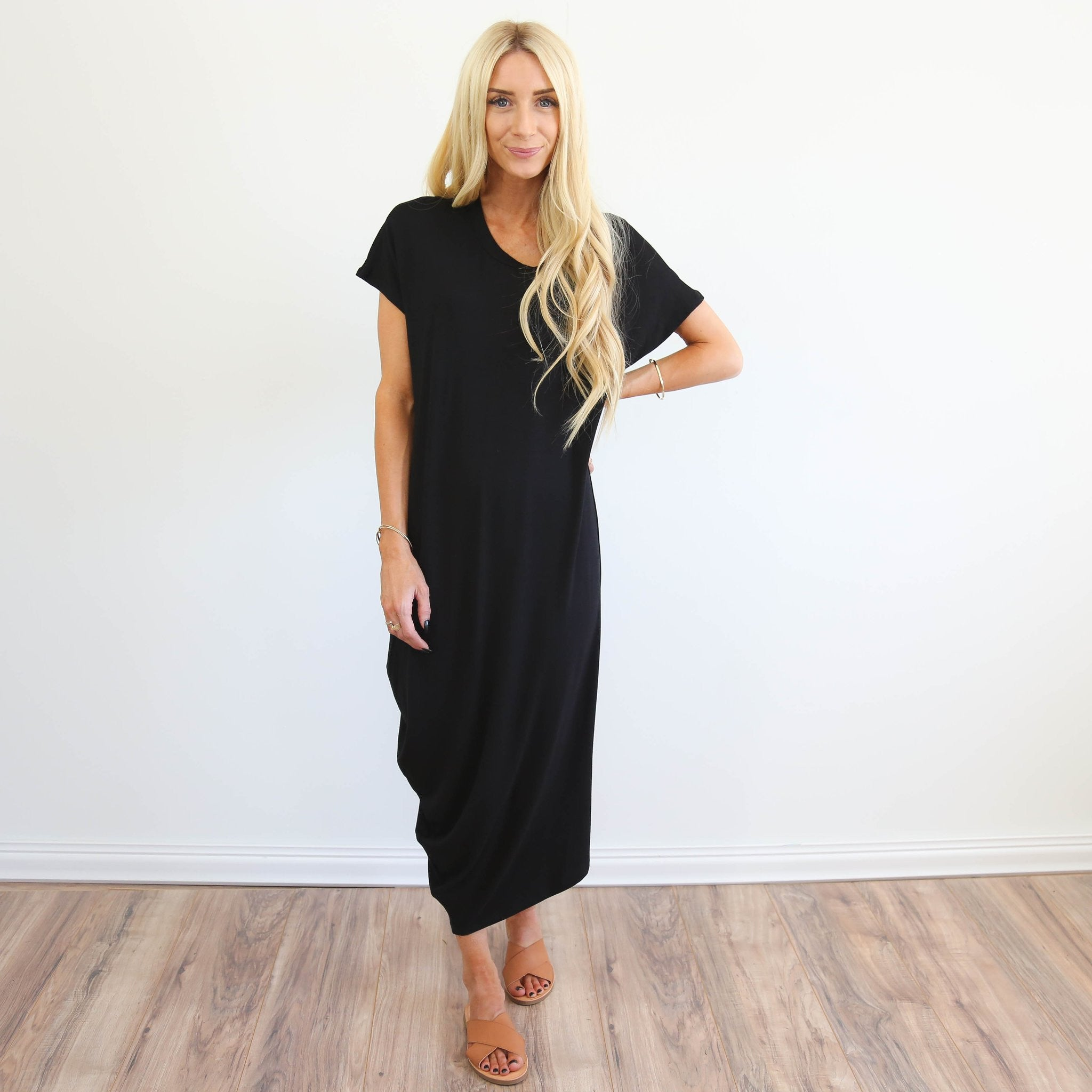 Dezie Black Dress