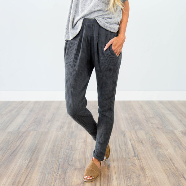 Coralynn Pants in Slate