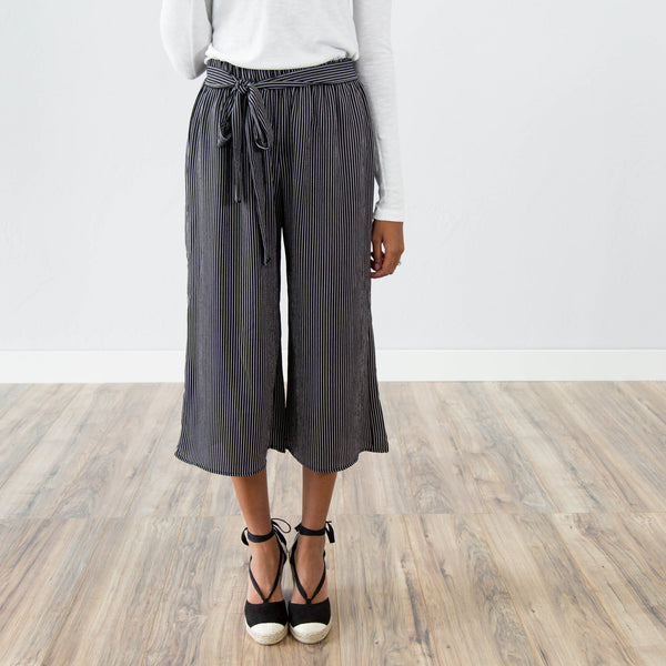 Daydream Stripes Pant in Black