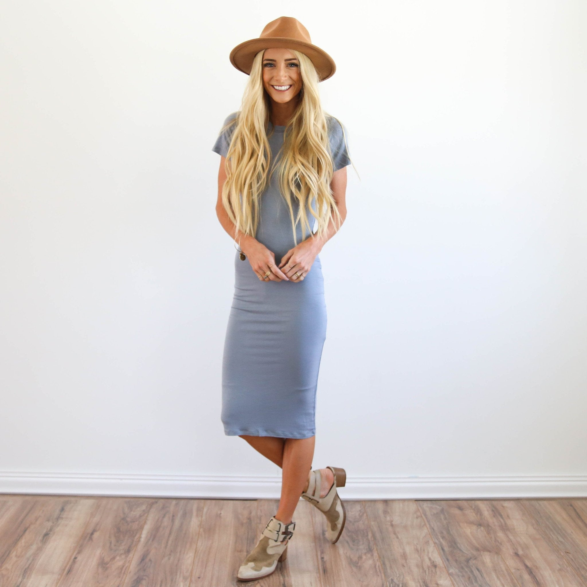 Easy Dress in Grey
