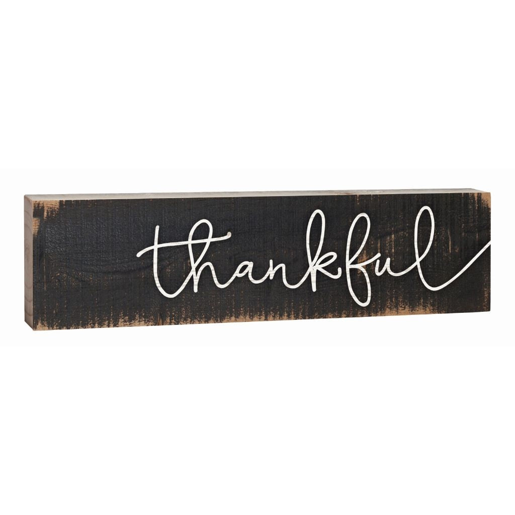 Thankful Mini Sign
