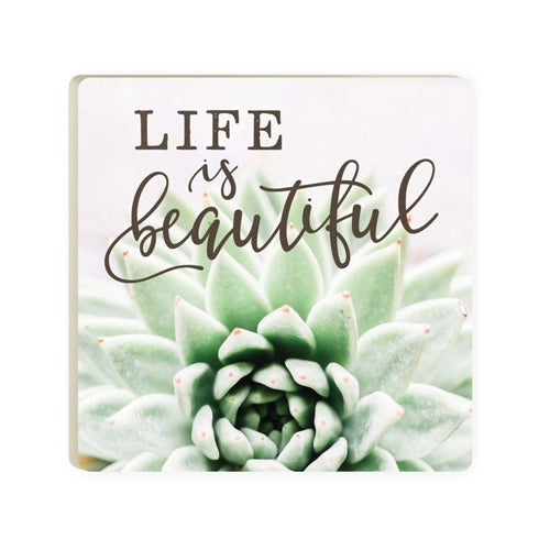 Life Is Beautiful Coaster