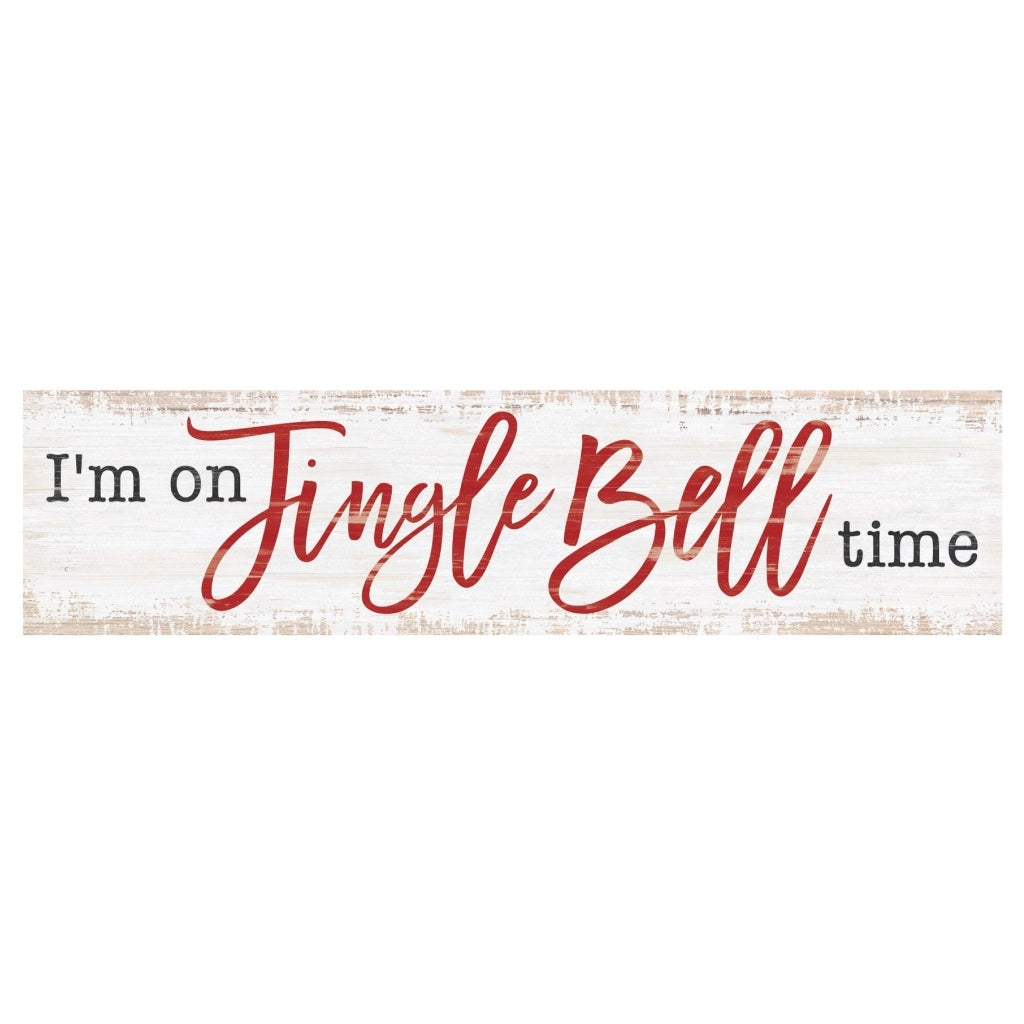 Jingle Bell Mini Sign