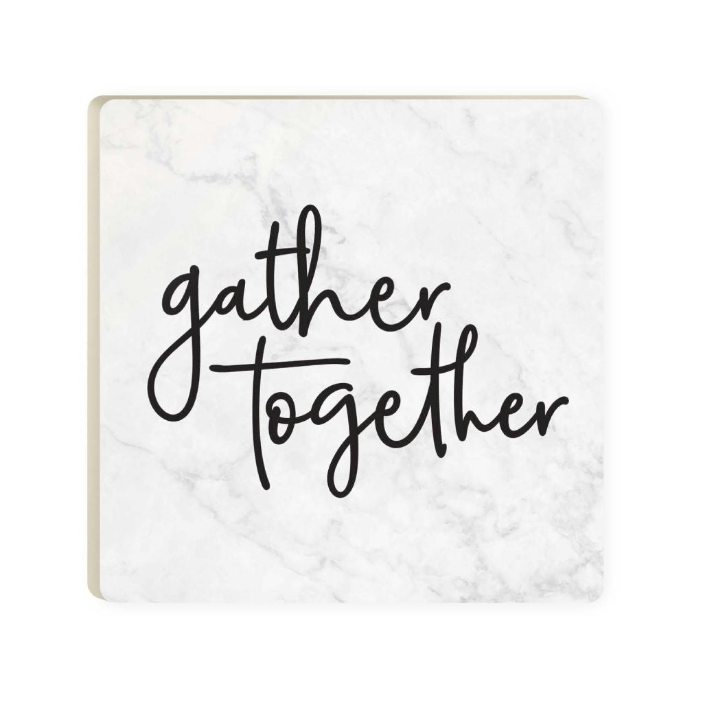 Gather Marble Coaster