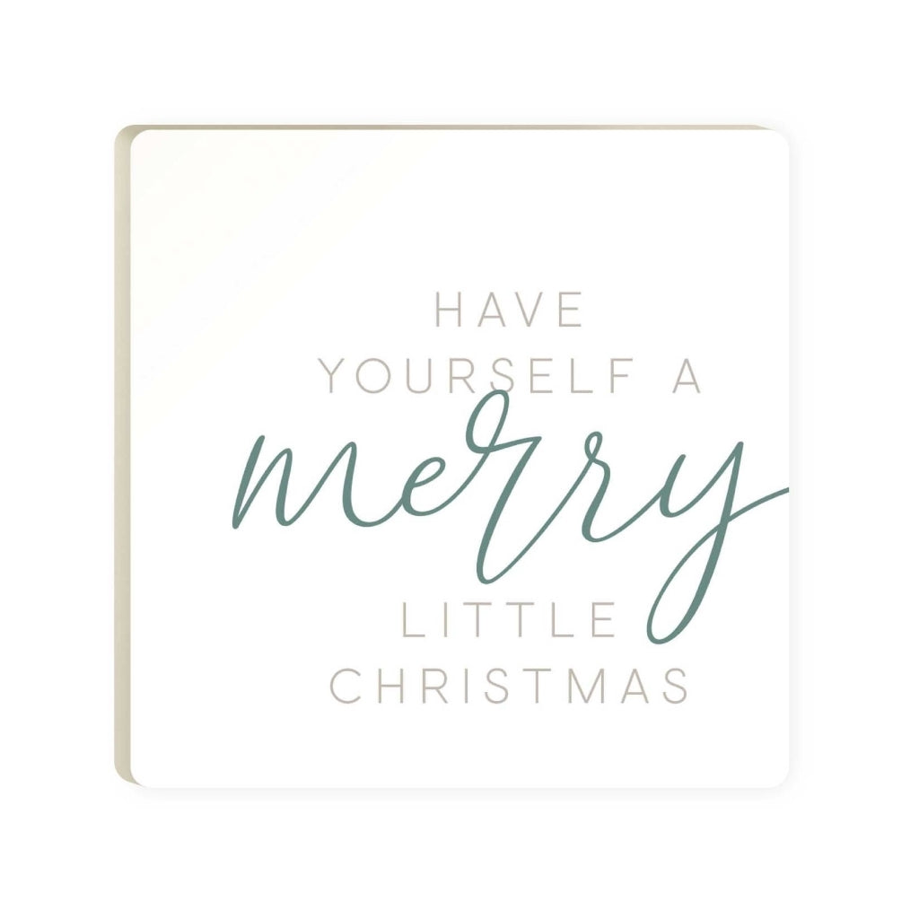 Merry Little Christmas Coaster