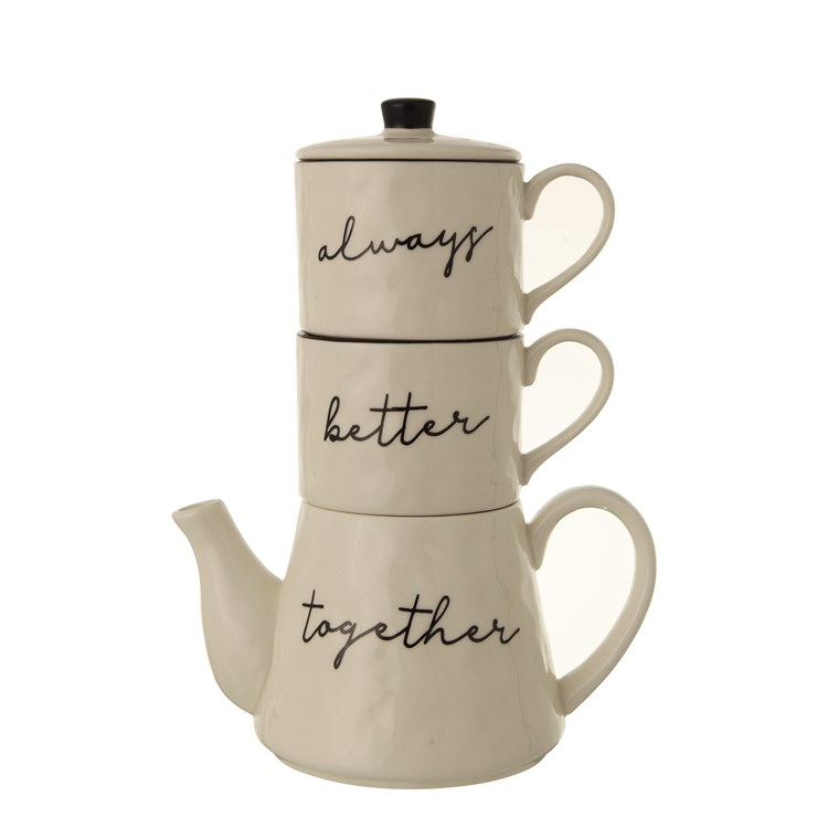 Always Together Tea Set